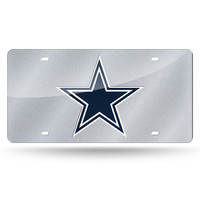 Dallas Cowboys NFL Bling Laser Cut Plate Cover