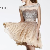 Sequined Cocktail Dress by Sherri Hill