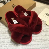 UGG Women Fashion Casual Slipper Shoes-1