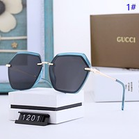 GUCCI New fashion polarized sun protection travel glasses eyeglasses women 1#