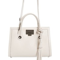 Jimmy Choo Riley Studded Leather Satchel | Nordstrom