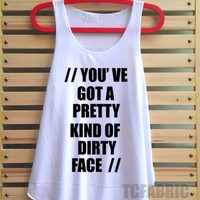 the 1975 shirt music robber tank top vintage singlet vest tee tunic sleeve - size S M L