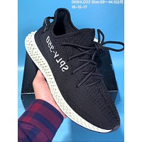 KUYOU A318 Adidas Futurecraft 4D Yeezy Boost 350 V2 Running Shoes Black