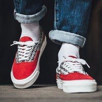 spbest Fear of God x Vans Vault UA ERA 95 DX Red