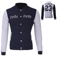 Sports On Sale Hot Deal Winter Korean Slim Casual Jacket Stylish Hoodies Baseball [10352113155]