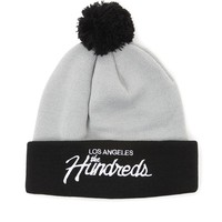 The Hundreds Team Pom Beanie - Mens Hats - Black - One
