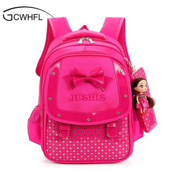 Cute Girls Backpacks Kids Satchel Children School Bags For Girls Orthopedic Waterproof Backpack Child School Bag Mochila Escolar