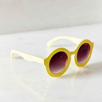 Saturday Morning Oversized Round Sunglasses-