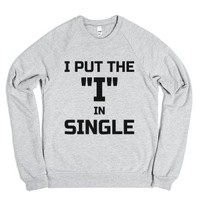 """I Put The """"i"""" In Single (blk"""