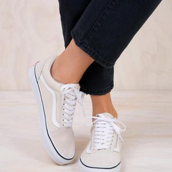VANS Old Skool Birch/True White Sneaker