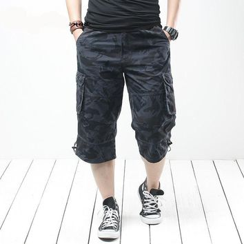 High Quality Summer Men's Baggy Multi Pocket Military Short Cargo Pants