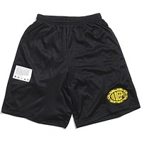 Flat Earth Shorts Black
