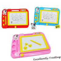 1PC Kids Child Magnetic Drawing Board Toy Doodle Painting Writing Sketch Pad Gift (Color: Multicolor) = 1946203972
