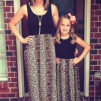 Mommy and Me Simply Irresistible Cheetah Maxi Dress - Children's