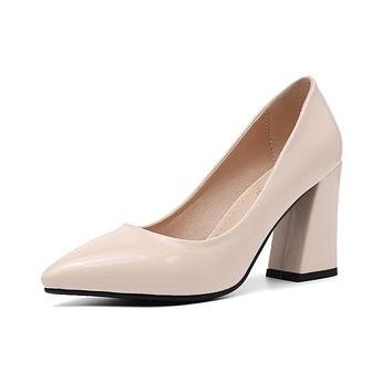 Pointed Toe Super High-heeled Shallow-mouth Women Pumps