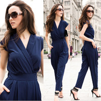 New 2016 Jumpsuit women's overall sexy fashion