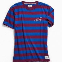 Tommy Jeans Striped Signature Tee | Urban Outfitters