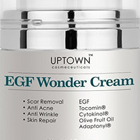 Uptown Cosmeceuticals Anti Wrinkle and Acne Scar Removal EGF Cream - 50 ml