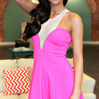 Sheers to You Dress - Pink