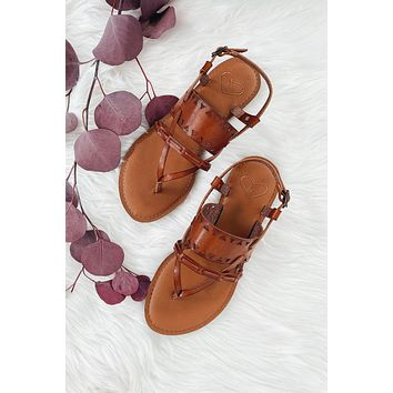 Madeline Bon Bon Sandal - Brown Sugar