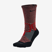 The Nike Hyper Elite Crossover Crew Basketball Socks.