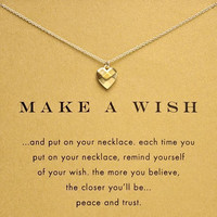 Gift Jewelry Stylish New Arrival Shiny Gold Necklace [4956916292]