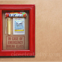 Womens Kit  PMS Emergency Case Funny Gift for Her by ClosetCat