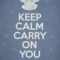 Keep Calm Carry On You Will  Art Print by Terry Fan   Society6