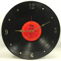 BILLY JOEL 52nd Street - Recycled Record Clock