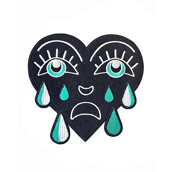 Crying Heart Large Patch