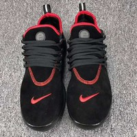NIKE AIR PRESTO Men Fashion Running Sport Casual Shoes Sneakers Black red G-CSXY