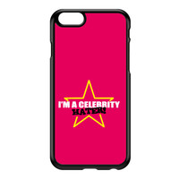 Celebrity Hater Black Hard Plastic Case for iPhone 6 by Chargrilled
