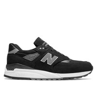 New Balance 998 in Black Nubuck