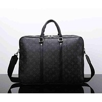 Tagre™ Louis Vuitton Leather Satchel Handbag Shoulder Bag Crossbody