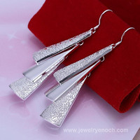 Silver fashion earring, New Design earring for lady
