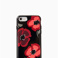 jeweled poppy iphone 7 case | Kate Spade New York