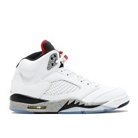 Air Jordan 5 Retro White Cement