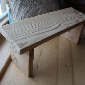 Kneeling Prayer Wood Bench Meditation From Goodmoodwoods On