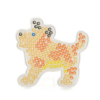 1 Pcs Hot Bead Pegboard Dog Shape Template For 5mm Hama Beads For Kids 3C
