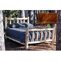Voyageur XL Single Traditional Bed-Complete-UNFINISHED/UNASSEMBLED