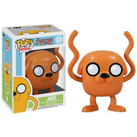 Funko POP! Television - Adventure Time Vinyl Figure - JAKE (4 inch): BBToyStore.com - Toys, Plush, Trading Cards, Action Figures & Games online retail store shop sale