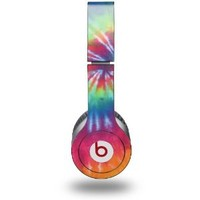 Tie Dye Swirl 104 Decal Style Skin (fits Beats Solo HD Headphones): Everything Else