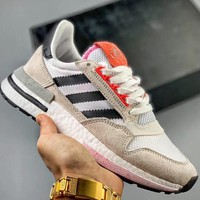 Trendsetter Adidas Originals  Zx500 Rm Boost Og Zx500  Women Men Fashion Casual Sneakers Sport Shoes
