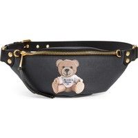 Moschino Cardboard Bear Faux Leather Belt Bag | Nordstrom