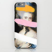 Brutalized Gainsborough 2 iPhone & iPod Case by Chad Wys