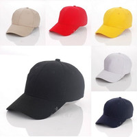 New Fitted Hat Baseball Cap Casual Outdoor Sports Solid Snapback Hats Caps for Men Women