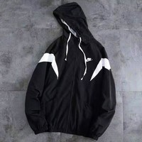 Nike Trending Women Men Cardigan Jacket Coat Windbreaker