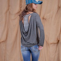 Freshwear Cowl Back Top