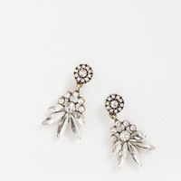 Cassia Crystal Chandelier Statement Earrings