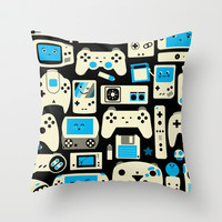 AXOR Heroes - Love For Games Duotone Throw Pillow by Studio Axel Pfaender | Society6